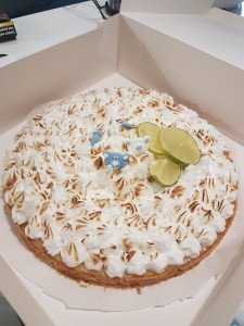 La tarte au citron et sa meringue Yuzu