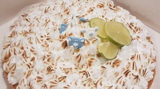 Tarte au citron et meringue au yuzu